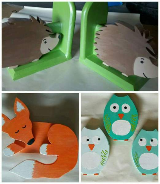 Wooden Animal Cut Outs